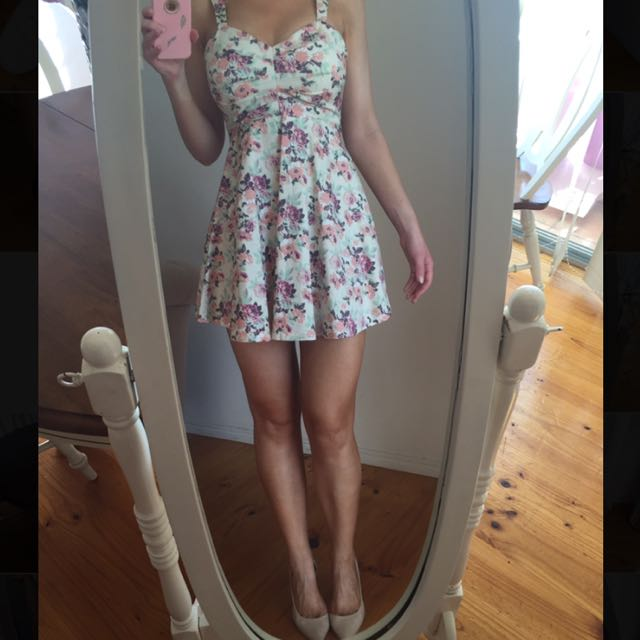 Floral Dress From Stelly.