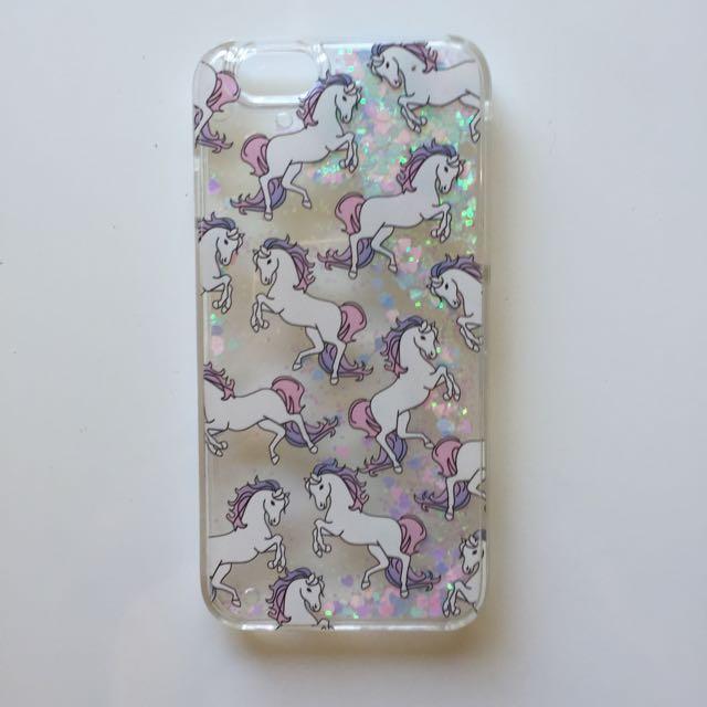 iPhone 6/6s Cute Glittery Unicorn Case