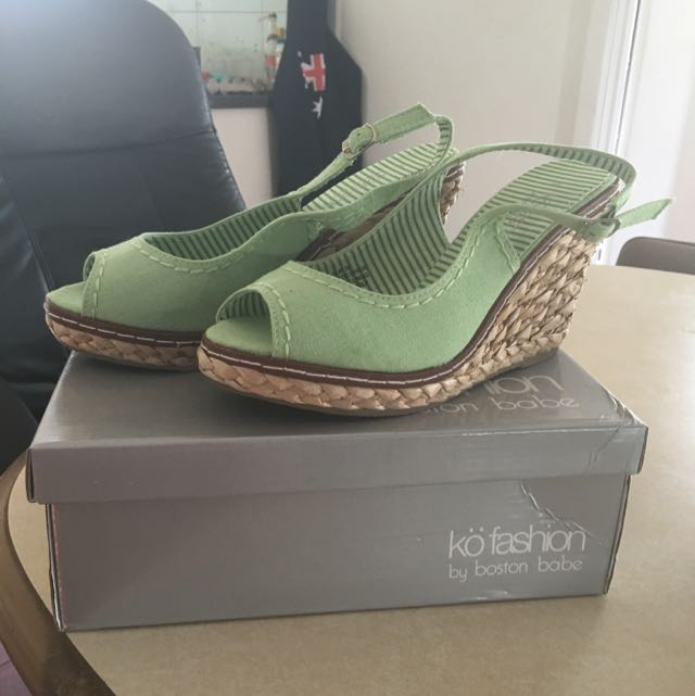Light Green Wedge Size 38