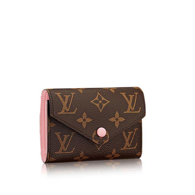 2f9e3615036d Louis Vuitton Victorine Wallet In Rose Ballerine