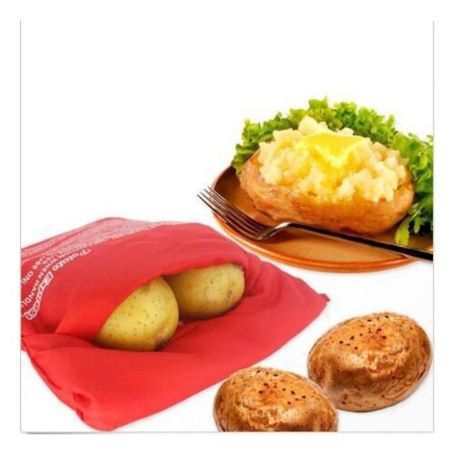 Microwave Baked Potato Cooking Bag Potato Washable Cooker Express