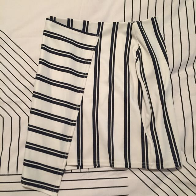 Misguided Stripy Skirt
