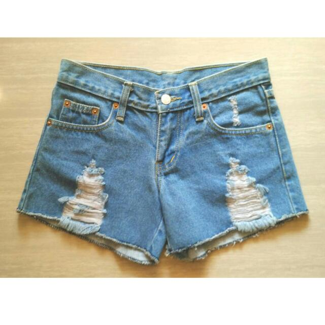 NEW Denim Hotpants Ripped Jeans Import BKK