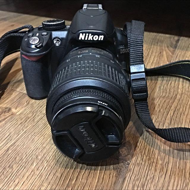 Nikon D3100 18-55mm Lens Camera DSLR