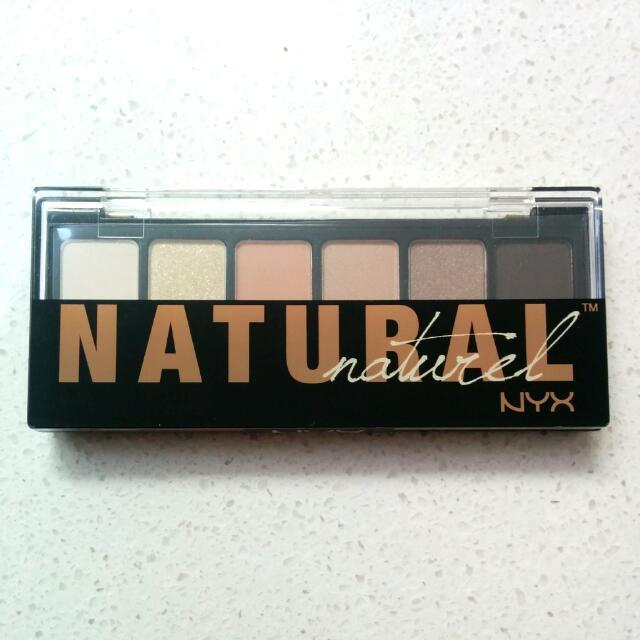 NYX Natural Eyeshadow Palette