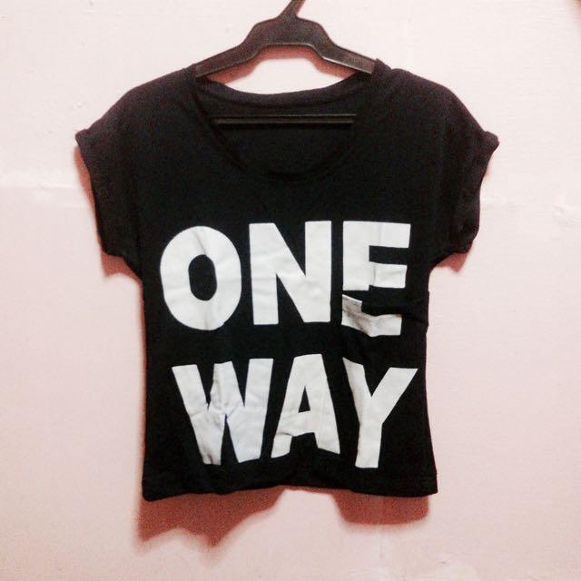 One Way mini top