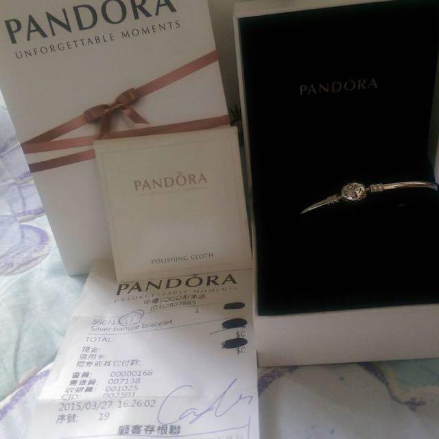 售全新Pandora潘朵拉純銀手鍊17CM