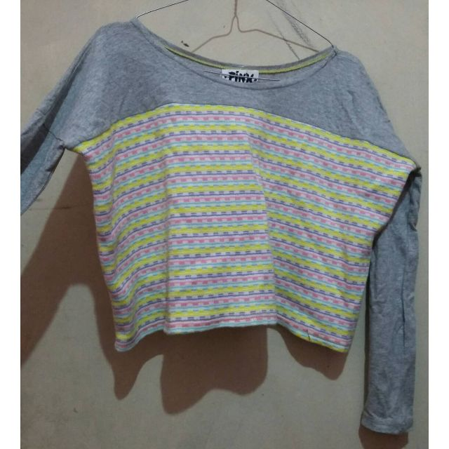 #Preloved Pink Croptop (4pcs 100rb)