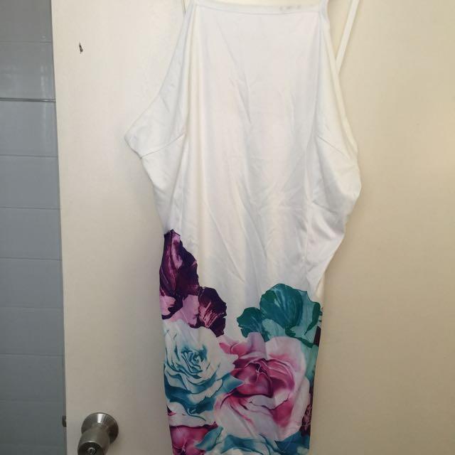 Stunning Sheer Backless Dress