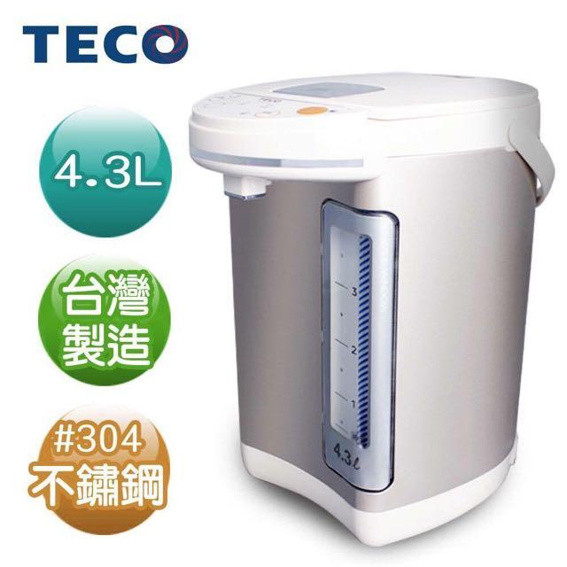 TECO 東元 4.3L 電熱水瓶 YD4301CB