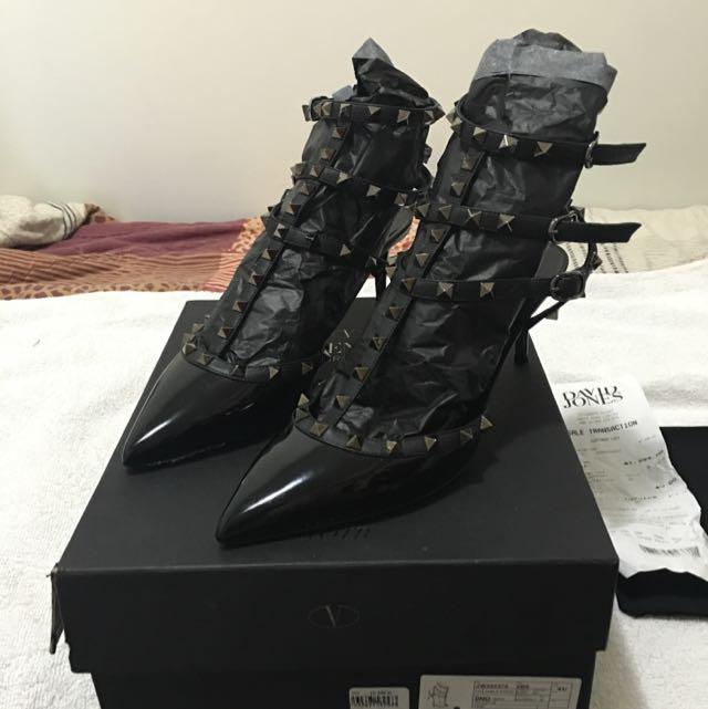 Valentino Heels (NOIR) Size EU 41/