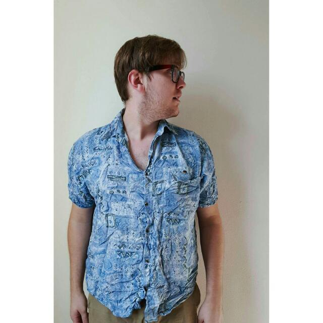 Vintage 90's Summer Shirt