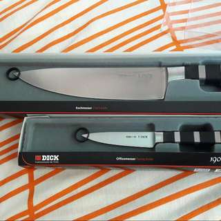 Dick 1905 Series Chef Knife & Pairing Knife