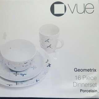 VUE 16 piece porcelain Dinnerset