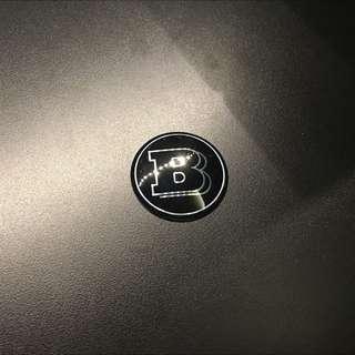 Brabus Command Control Sticker