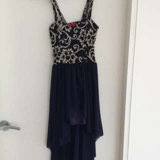 Navy Dress Size Small