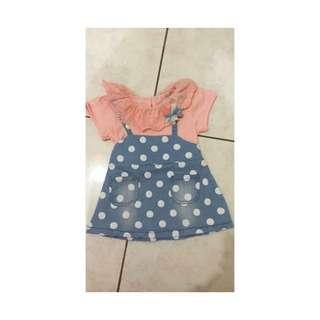 ✔️正韓版小童洋裝(買洋裝送小髮夾)