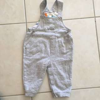 Pumpkin Patch Overalls 10/10 Cond Size 1