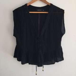 MINKPINK black Top Size 8/10