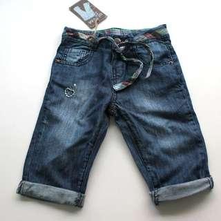 ZARA Draw String Jeans