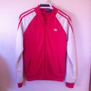 Pink Adidas Jacket