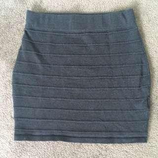Tight Black Mini Skirt