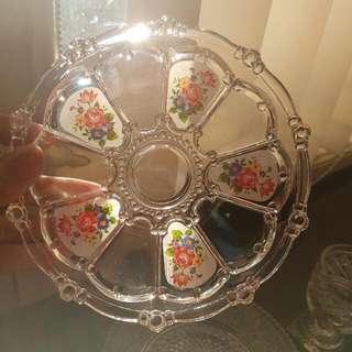 Dessert Glass Plates