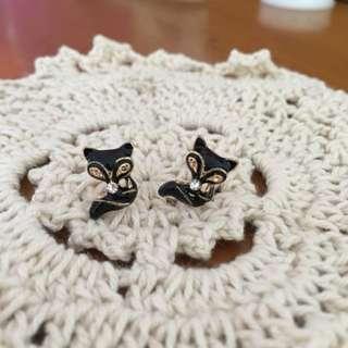 ❤️小黑貓耳環❤️