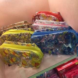 迪士尼透明萬用包