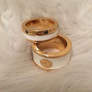 Mimco Rings X2