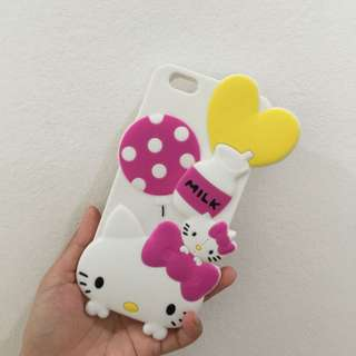 iphone 6+ Hello Kitty Case (soft rubber)