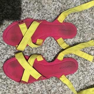 Top Shop Sandals Size 38