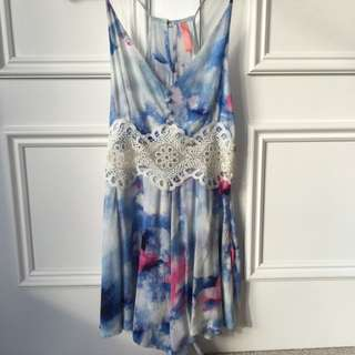 Blossom Playsuit Size 8