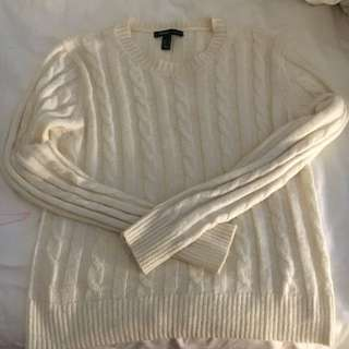 Mango Round Neck Knitted Sweater