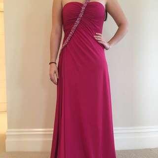 Rose Noir Ball Dress Size 8-10