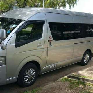 13 Seater + 1 Driver Mini Van Transportation Packages