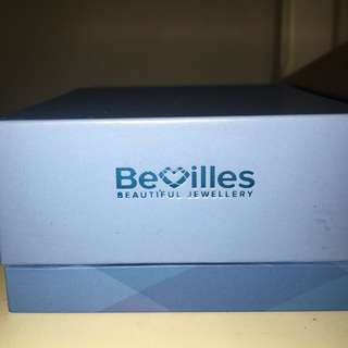 Bevilles Stainless Steel Silver Bangle