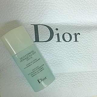 全新未用 Dior 雙效眼妝卸除水 15ml 含運費