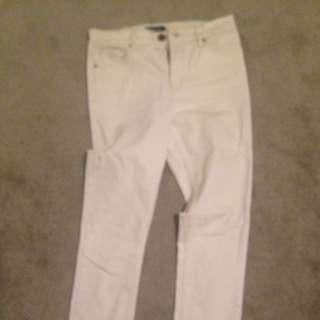 White /Ivory Skinny Jeans (10)