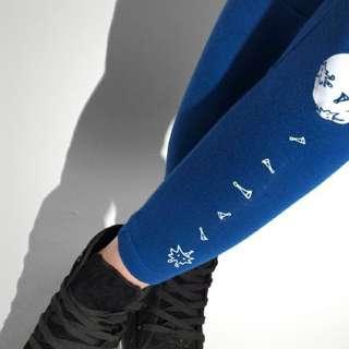 藍色星球設計 圖案內搭褲