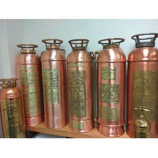 For Sharing Only, Not For Sale - Vintage Portable Fire Extinguisher