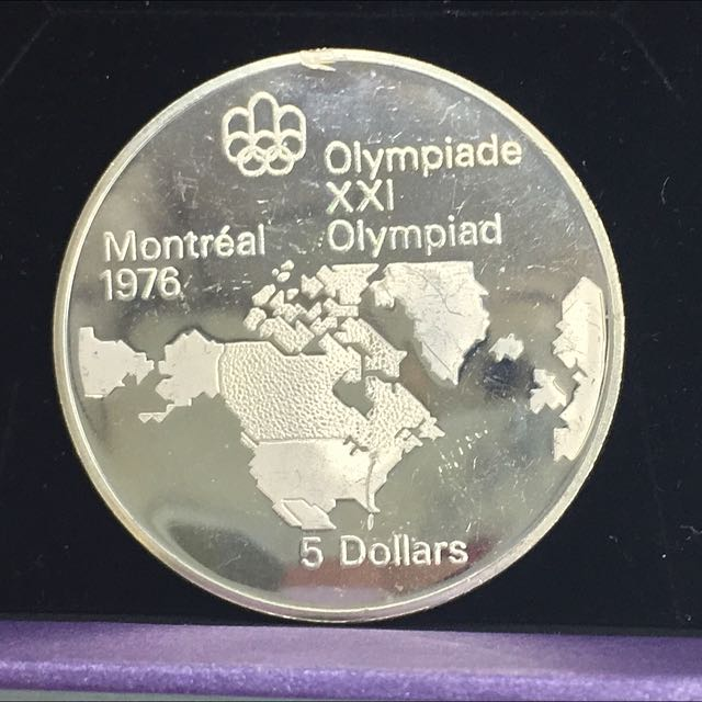 1976 Olympics, Montreal Coin