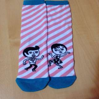 Pazzo可愛短襪