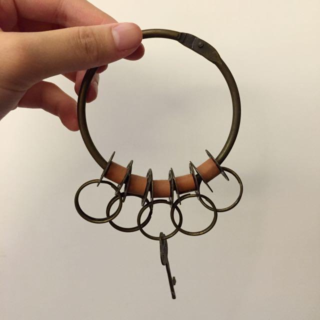 降價~復古鑰匙圈