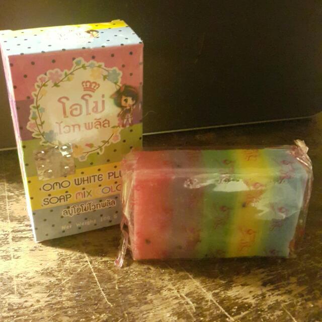泰國 彩虹皂