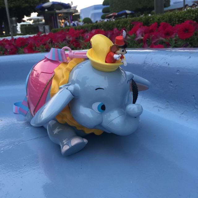 小飛象爆米花桶 迪士尼正版