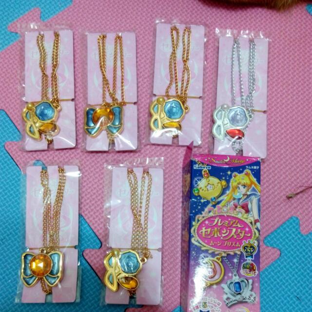 美少女戰士 食玩項鍊 日本帶回 全新