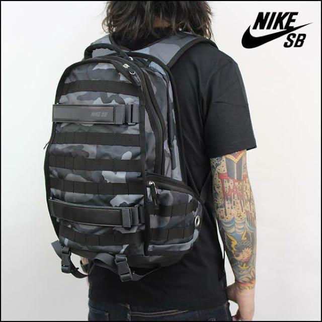 ACE LAMN 代購 NIKE SB RPM BACKPACK 黑迷彩 後背包 雙肩 背包