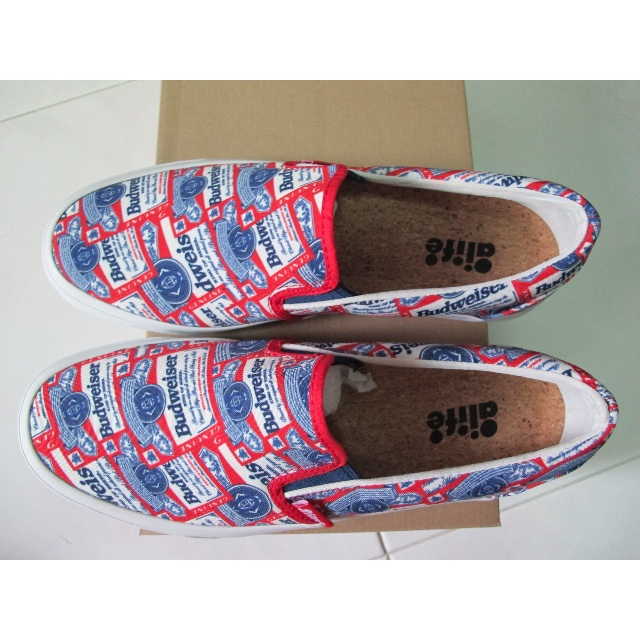 90a169b4d798 Alife x Budweiser - Budweiser Label Slip On Shoe