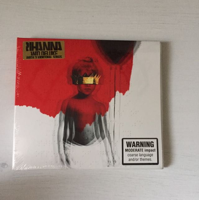 ANTI Rihanna Album Deluxe